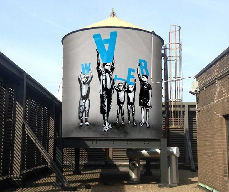 water tanks, water towers, history of water tanks nyc