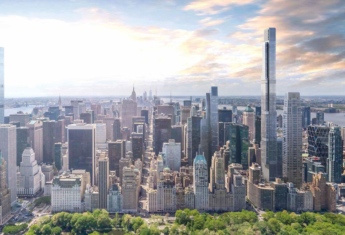 First Look See Central Park Tower S Palatial Amenity