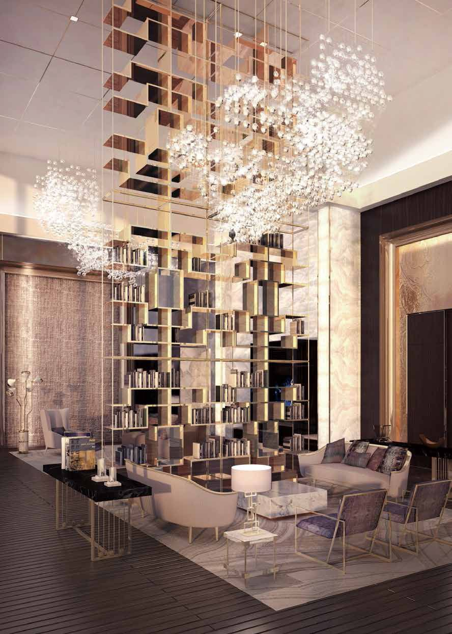 First look: See Central Park Tower's palatial amenity spaces