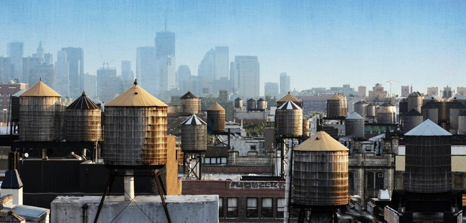 Image result for Inside New York City's Water Towers images