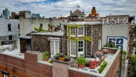 72 East 1st Street, 72 East First Street, Rooftop cabins, rooftop cottages, east village, condominiums, condos, cool listings, quirky homes, duplexes