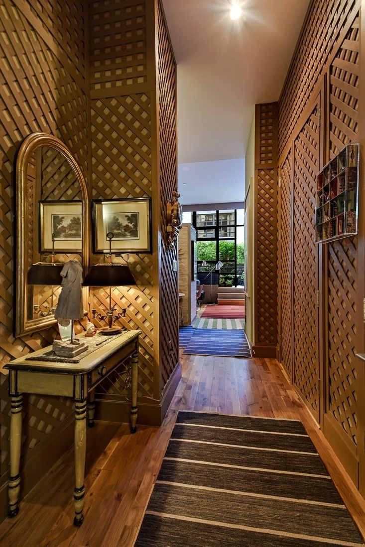 Bold Design Helps Create Distinctive Spaces Within The Studio Entrance Hallway For Example Is Lined With A Patterned Wood