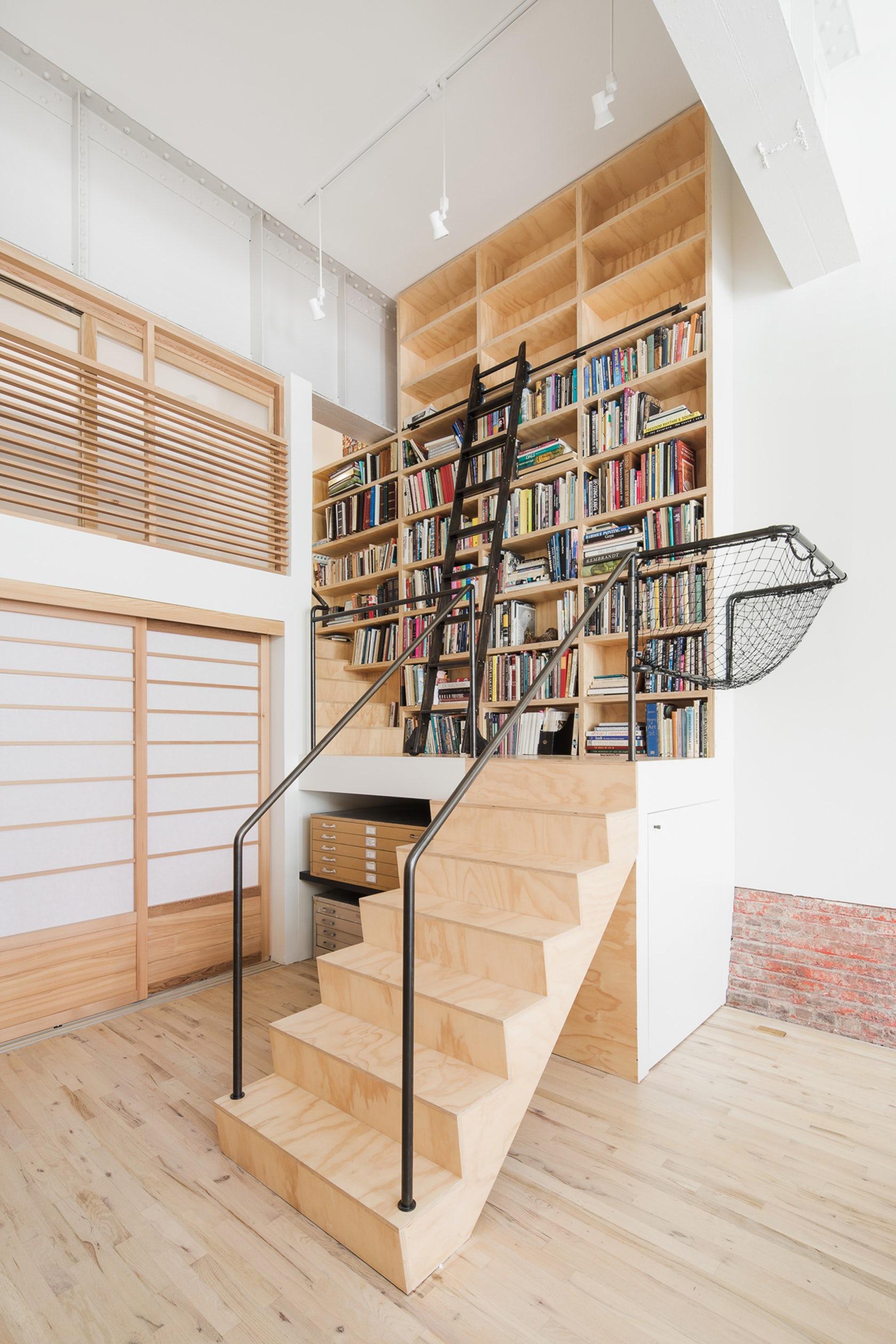 wells fargo loft, jeff jordan architects, jersey city lofts