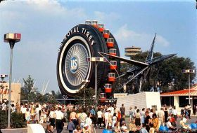 uniroyal giant tire, 1964 world's fair, ny world's fair