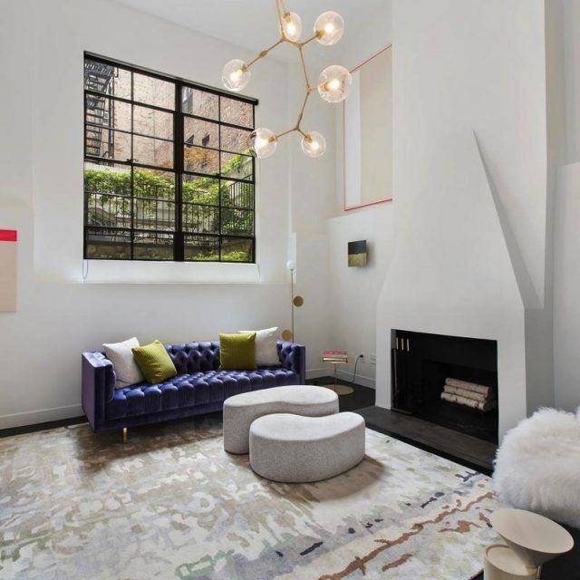 Strikingly modern duplex rents for $15,000/month in a historic West Village co-op