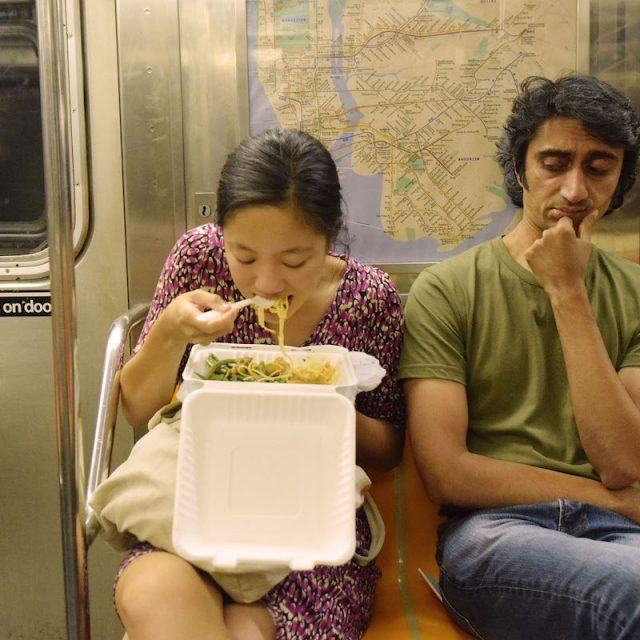 MTA considers ban on subway dining; snacking might be ok