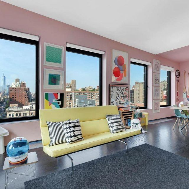 eBay exec's madly mod and colorful Chelsea pad asks $2.2M