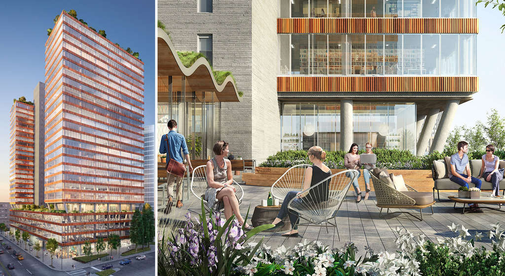 REVEALED: Tishman Speyer's Long Island City office development boasts food hall and rooftop park