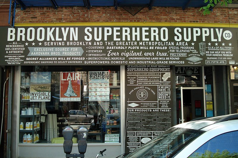 brooklyn superhero supply store, park slope, hidden attractions nyc