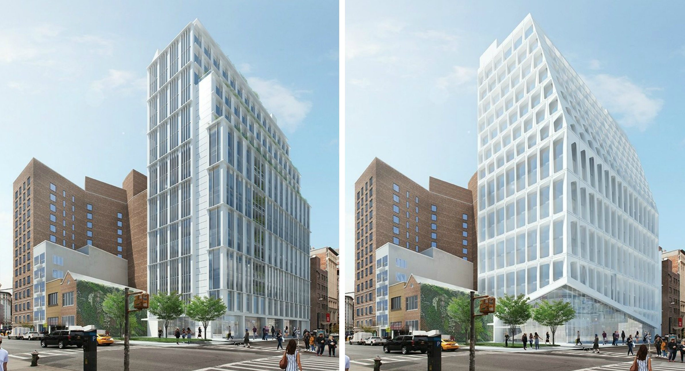 Old Renderings Of 799 Broadway By CentraRuddy