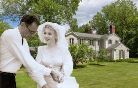 122 East Ridge Road, Marilyn Monroe, Arthur Miller