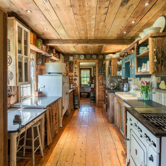 18th-century farmhouse filled with wood and antiques asks just $379K upstate