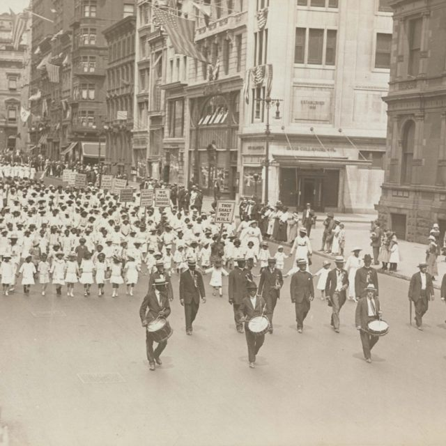 100 years ago today, the NAACP held its Silent Protest Parade down Fifth Avenue