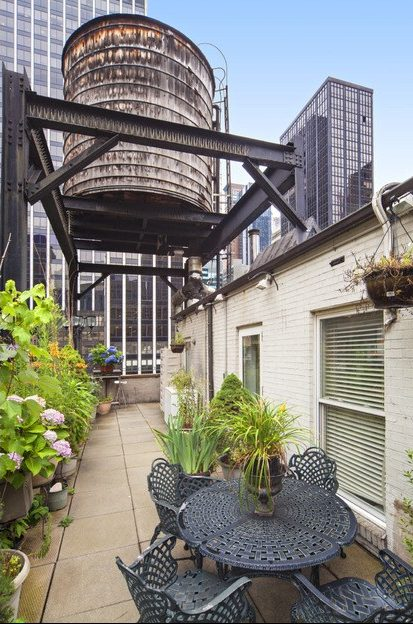 Pre War Penthouse With A Water Tower Atop Its Terrace Asks 2 5m In