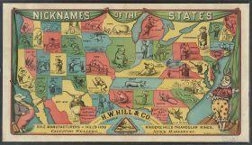 maps, us states, history