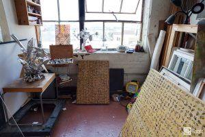 Ehren Shorday, Bushwick loft, Brooklyn artist loft, trash and treasures