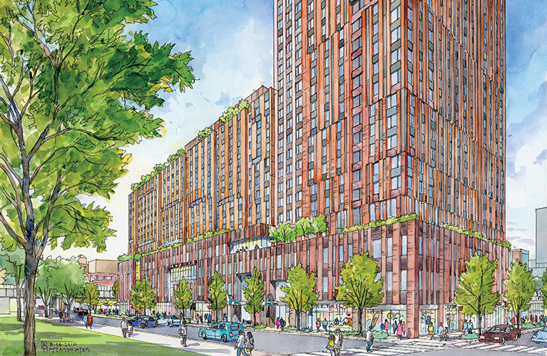 Sendero Verde, Handel Architects, L+M Development, East Harlem affordable housing, passive house NYC