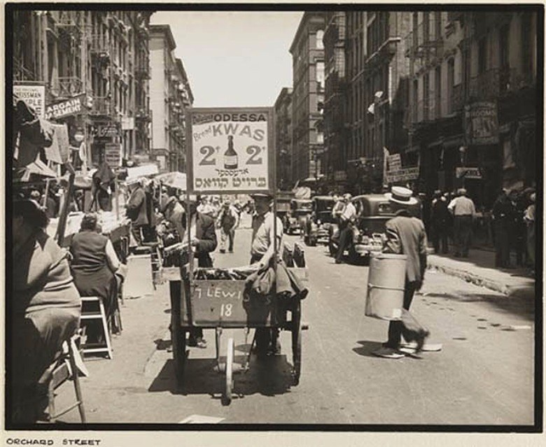 lower east side, pushcarts, jewish carts