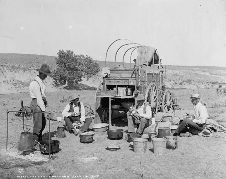 chuckwagons, first food carts