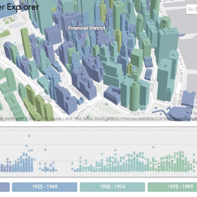 The Manhattan Skyscraper Explorer is your building-by-building skyline map