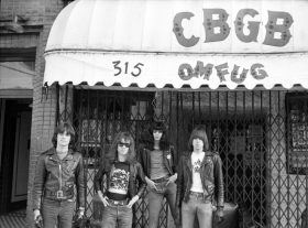 the ramones, cbgb, east village