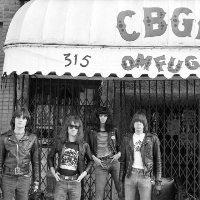 On this day in 1974, the Ramones played their first gig at CBGB in the East Village