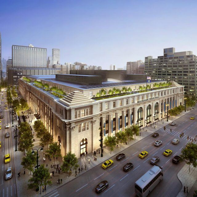 Facebook in talks for office space at former Farley Post Office in Midtown
