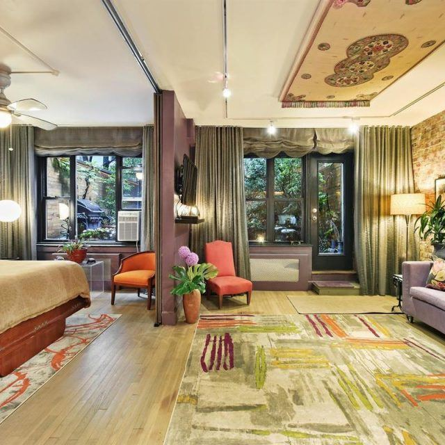 A magic carpet and koi pond await at this $1.55M SoHo co-op