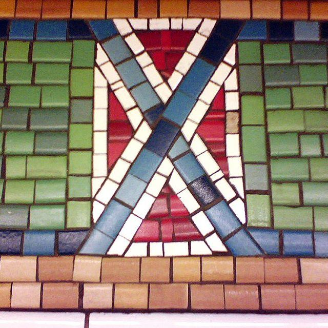 MTA will 'modify' Times Square subway mosaics that resemble the Confederate flag