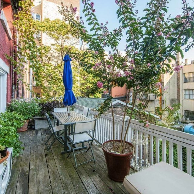 Soak in the Village from your lovely outdoor terrace at this $6,750/month apartment