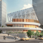 Hudson Yards food and beverage pavilion, Related Companies, Hudson Yards architecture
