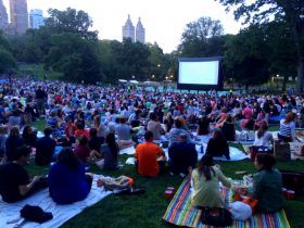 central park conservancy, central park film festival, central park movies