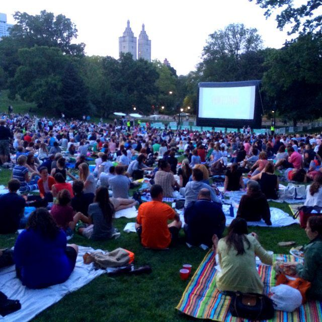 EVENT: Attend free movie screenings at Central Park and Marcus Garvey Park this week