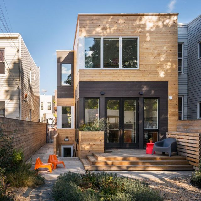 BFDO Architects renovated this Brooklyn rowhouse to capture light from every corner
