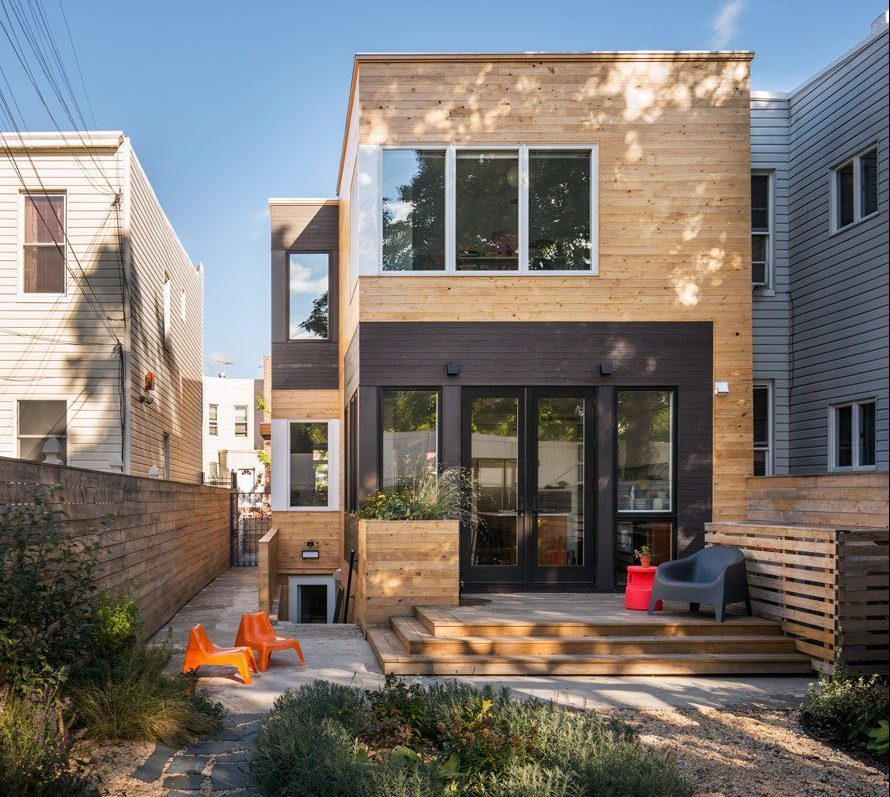 This Brooklyn rowhouse was redesigned by BFDO Architects to capture ...