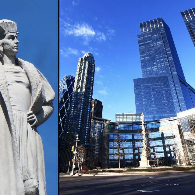 Columbus Circle monument gets historic designation; Amy Poehler opens Park Slope wine shop