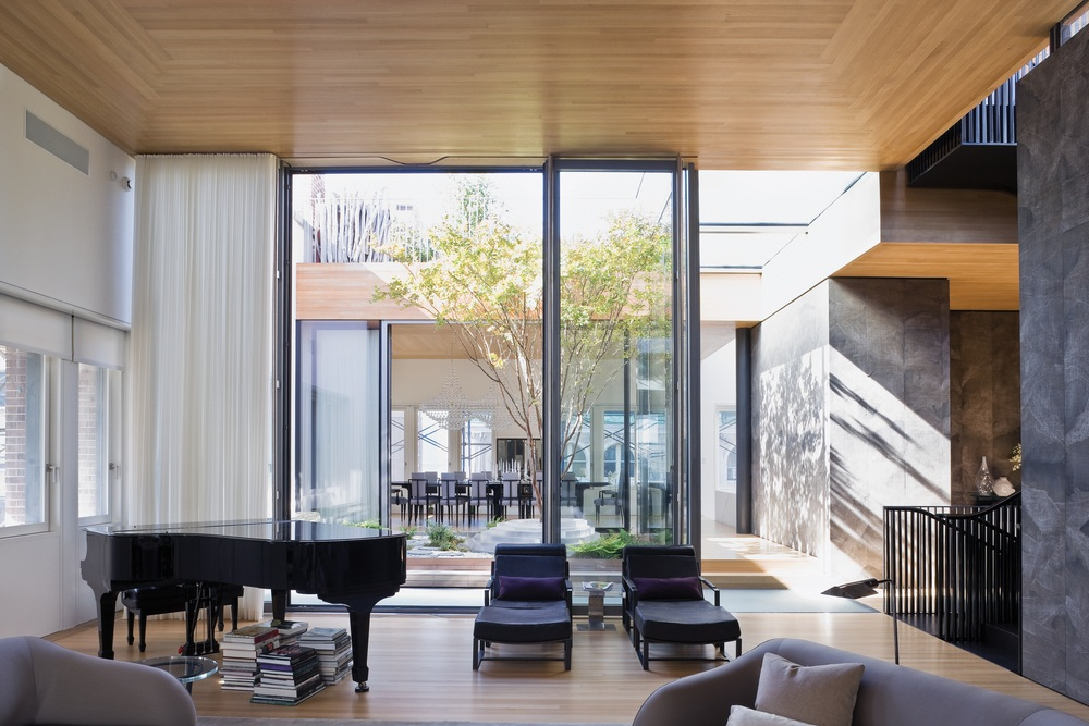 Young Projects Used Interior Gardens To Combine Three