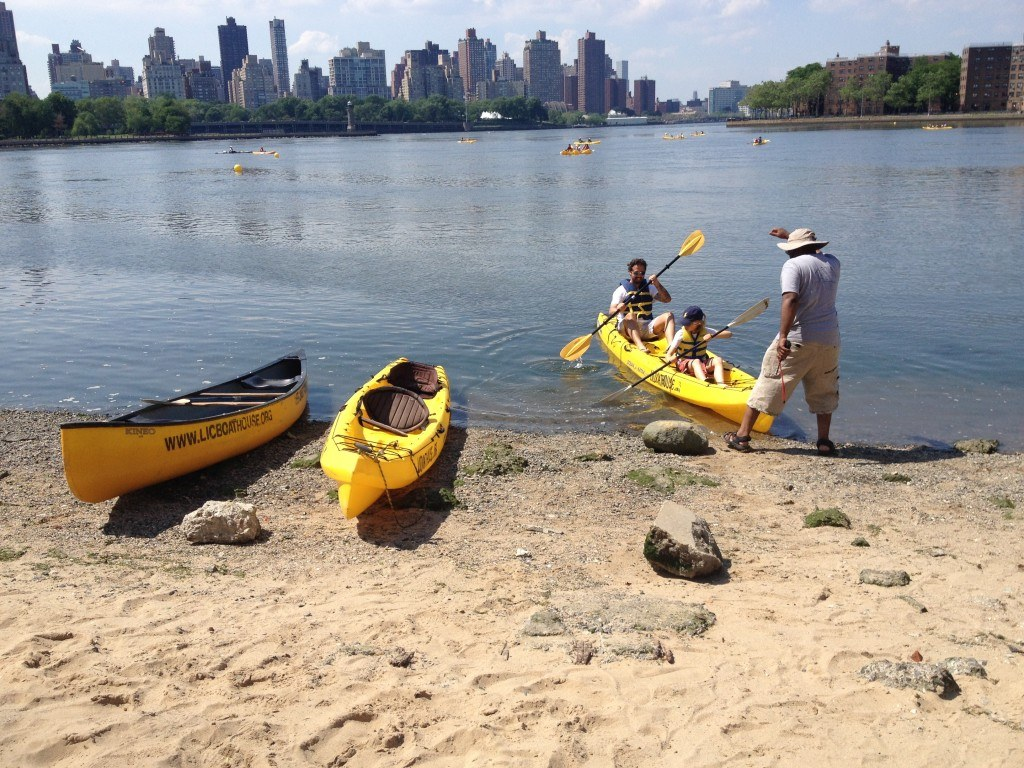 kayak launch, long island city boathouse, Socrates sculpture park