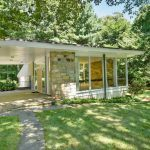 44 Chestnut Hill Road, Lester Rossin, Stamford real estate, mid-century-modern home Connecticut, Luise Rainer Connecticut
