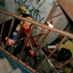 Ash Thayer, Ash Thayer Lower East Side Squatters, NYC punk scene 90s, Kill City