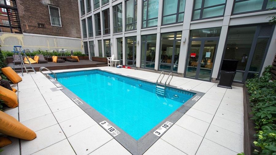 133 west 22nd street, cool listings, chelsea, pool, outdoor pool, roof deck, outdoor spaces
