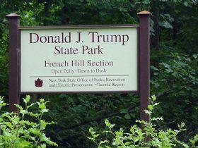 trump state park, president trump