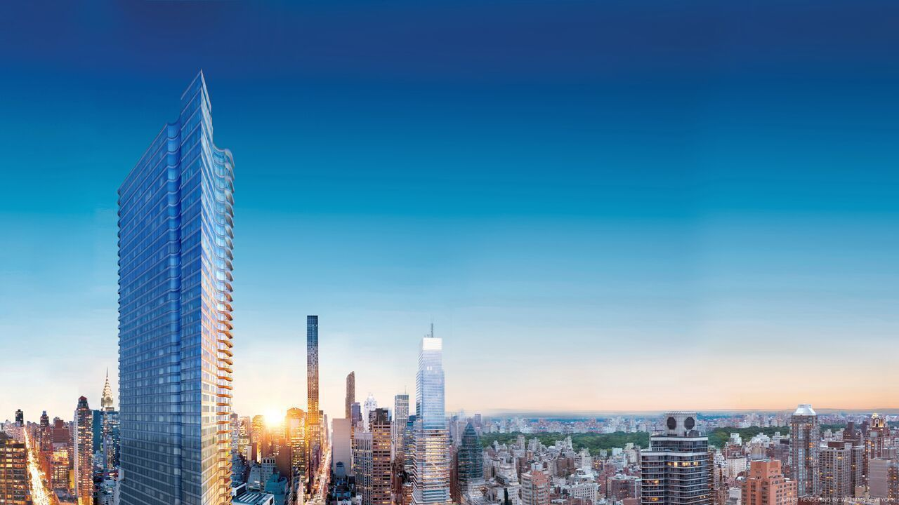 Skidmore Owings & Merrill, 252 East 57th Street, Billionaires Row towers, Midtown East condos