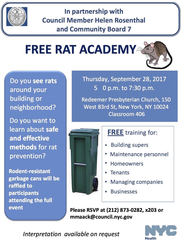 Free rat academy