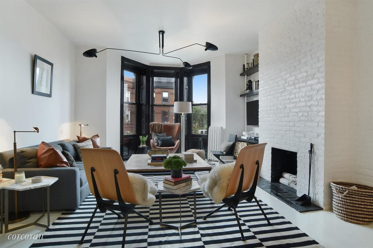 This renovated Park Slope co-op, asking $995K, has its own