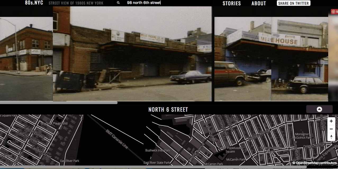 Oldnyc Has Done Us A Similar Favor Mapping The City S Streets Using The Library S Vintage Photos From 1800 To 2000