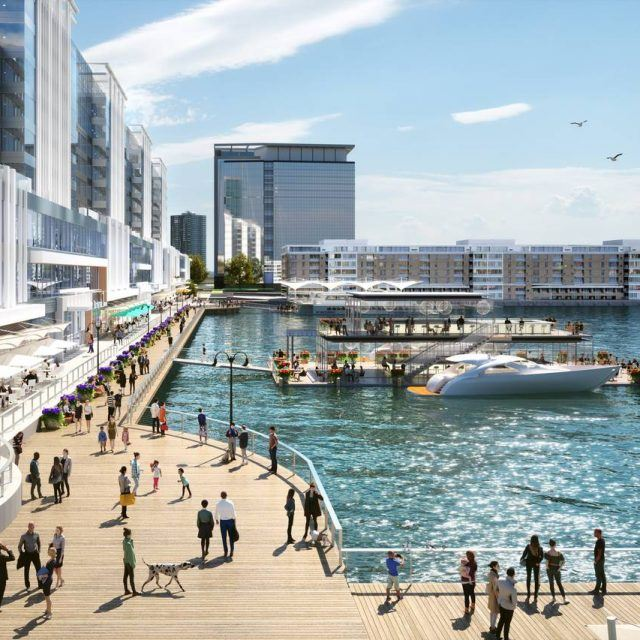 Jersey City's Harborside boardwalk to get $75M makeover and new food hall