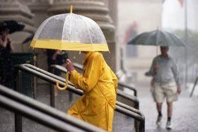 rainfall nyc, new york city history