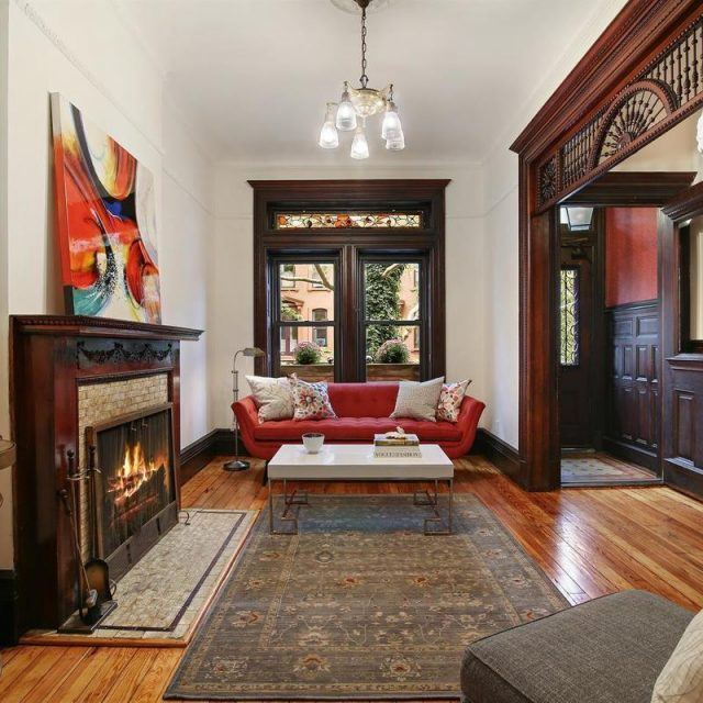 Historic beauty shines through lush design in this $3.5M Prospect Heights Neo-Gothic townhouse