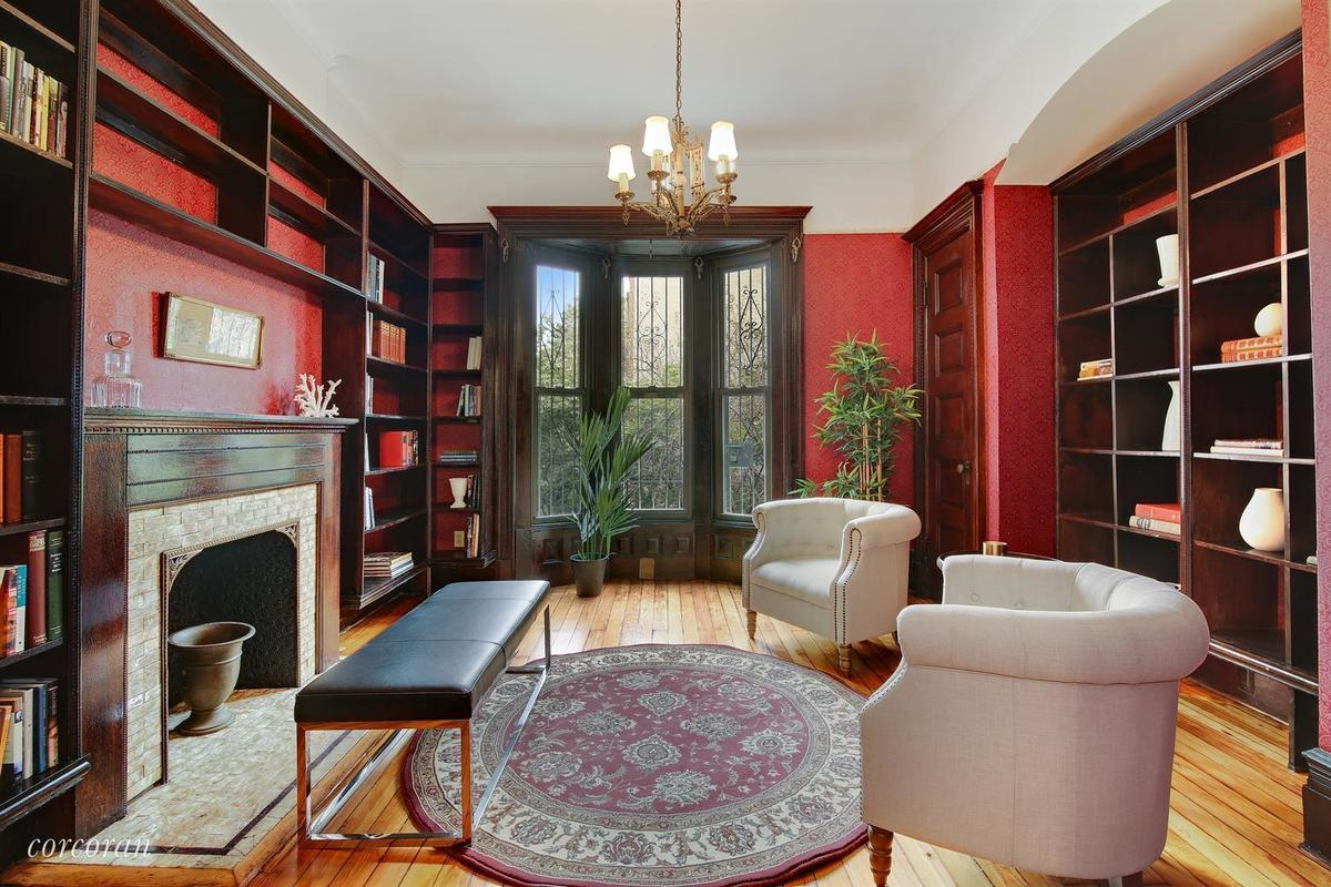 577 Carlton Avenue Cool Listings Neo Gothinc Prospect Heights Townhouses
